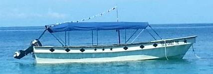 boat Colombia - Panama