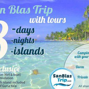 San Blas Island - Boat Trip Adventure