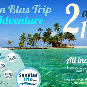san blas adventures Aroma island